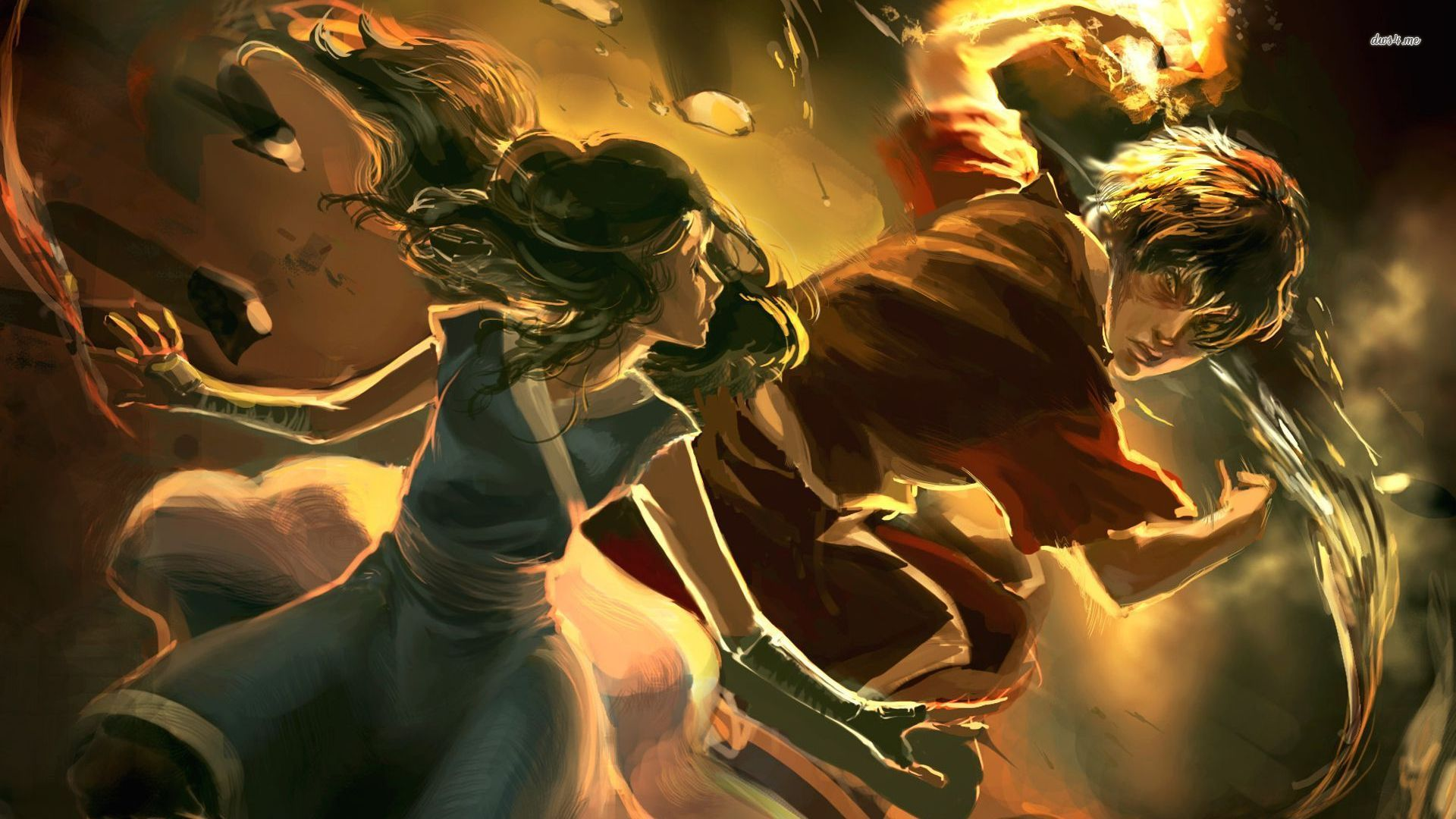Katara Of Avatar The Last Airbender Hd Wallpaper Download