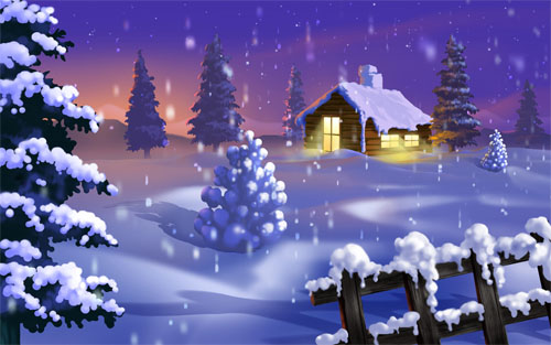 Beautiful Christmas and Winter Wallpapers For Your Desktop   noupe 500x313
