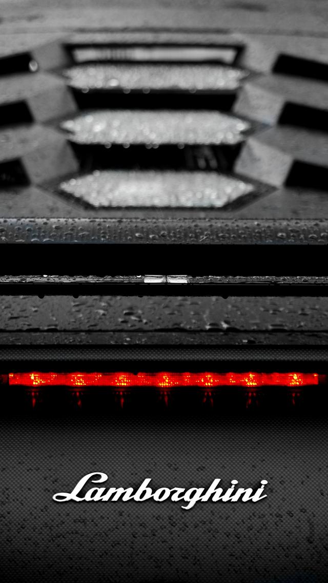 Lamborghini Aventador Matte Black Wallpaper Iphone Download