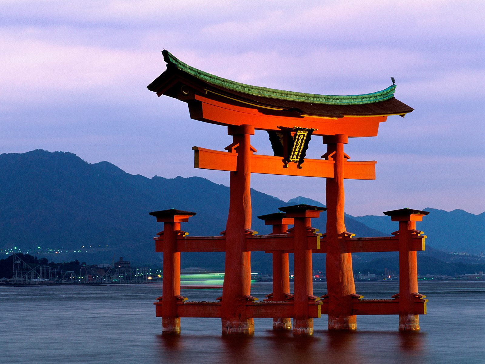 Tori Gate Miyajima Japan 113 Wallpapers 1600x1200