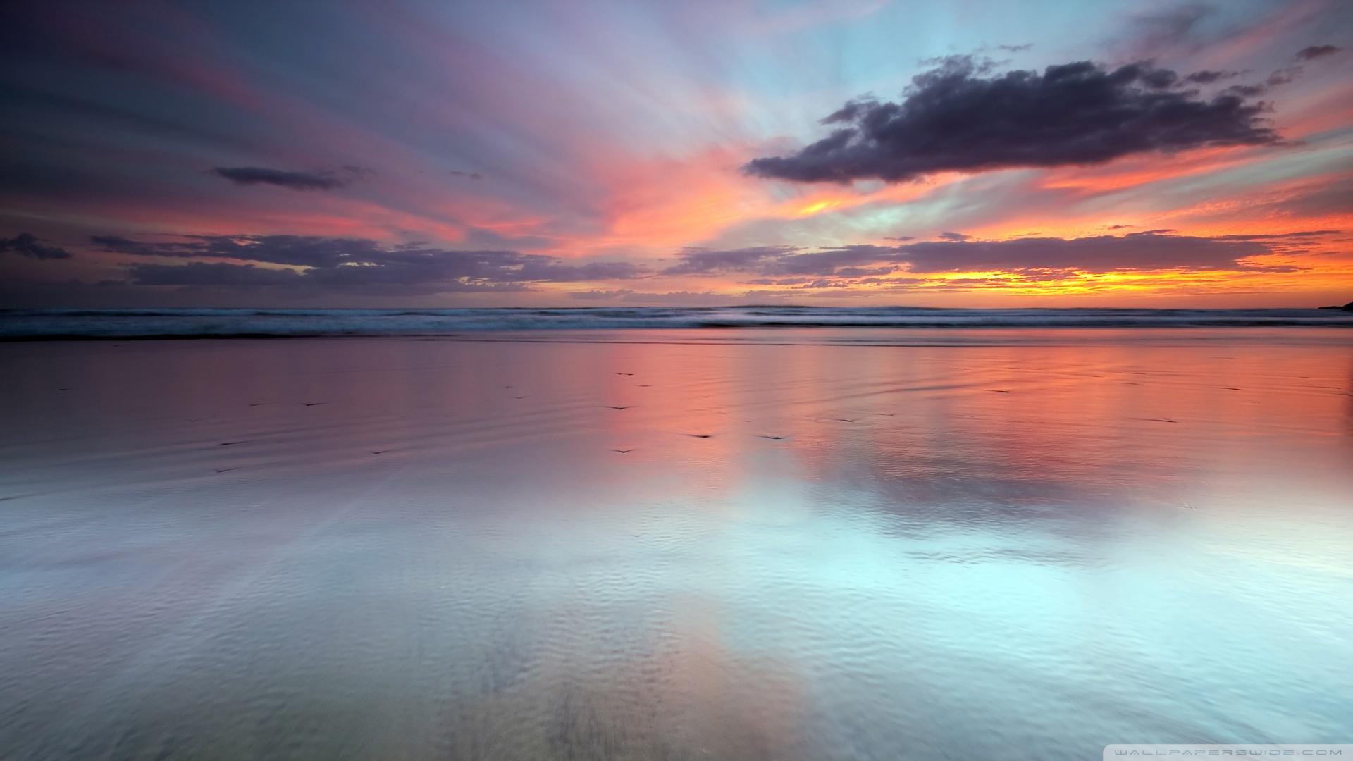 beach scene wallpaper sunset jpg