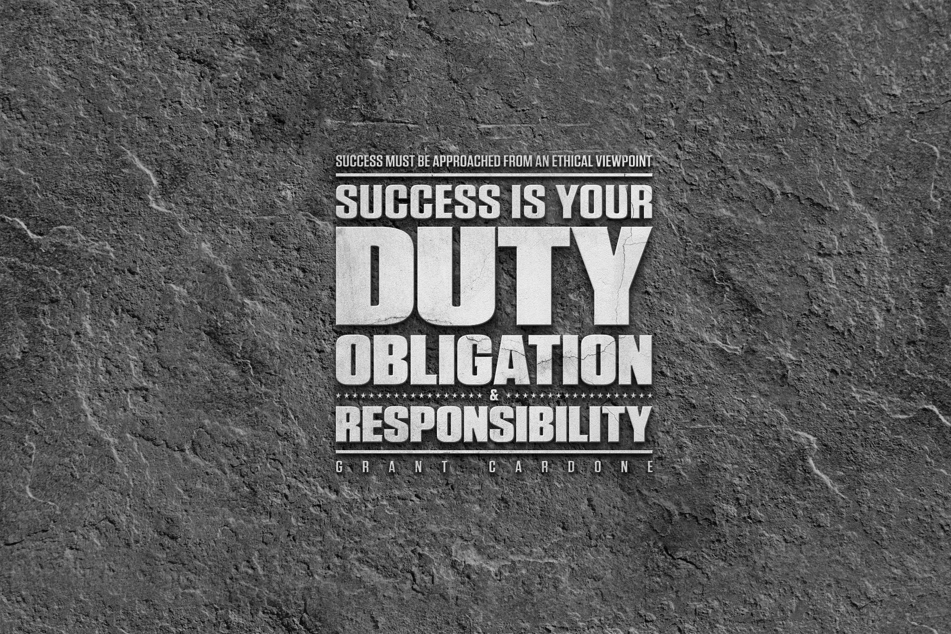 Success is Your Duty Screensaver 1920x1280