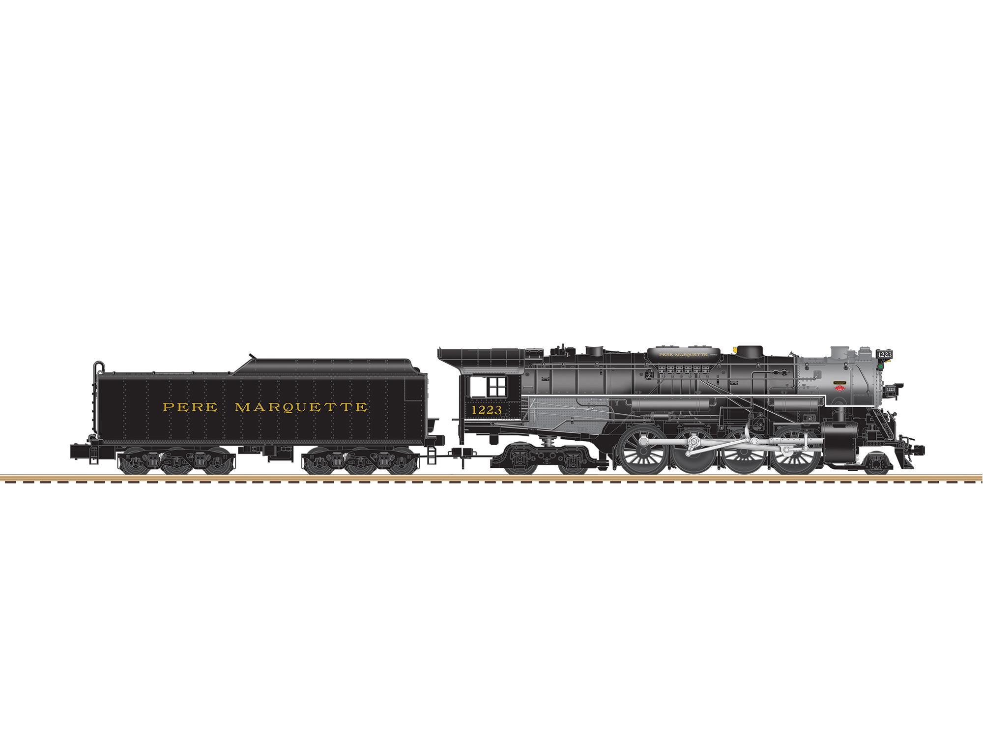 pere marquette locomotive wallpaper 2000x1500