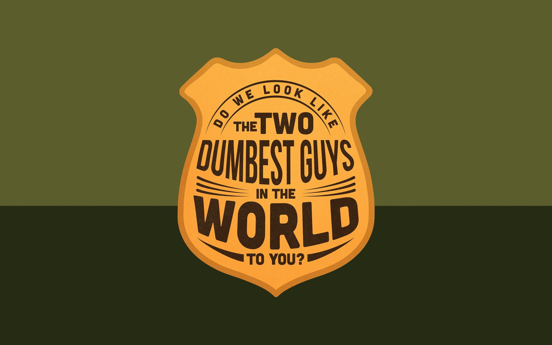 The Two Dumbest Guys in the World illustration Super Troopers 1920x1200