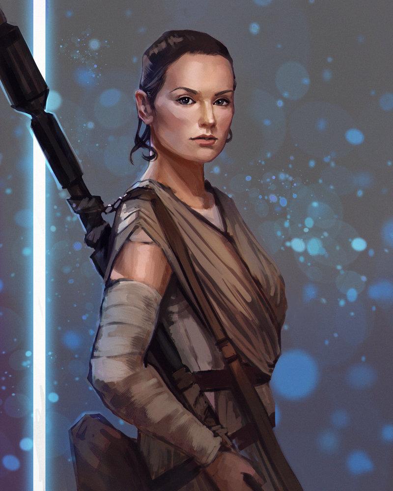 Star Wars Rey by PolliPo 800x1000