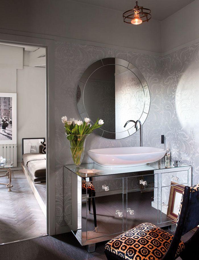 decor homeGuest Bathroom Masculine Interior Bathroom Vanities Wall 700x911