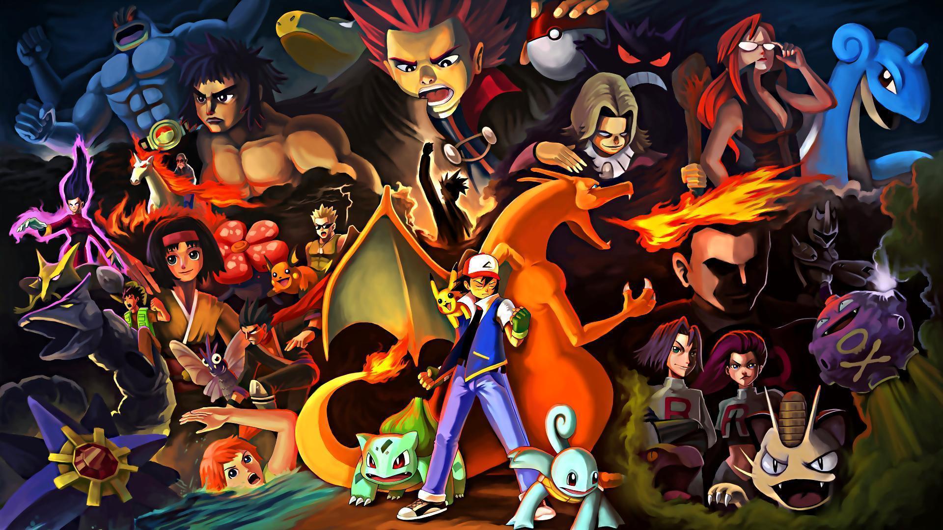 Pokemon HD Wallpapers 1920x1080