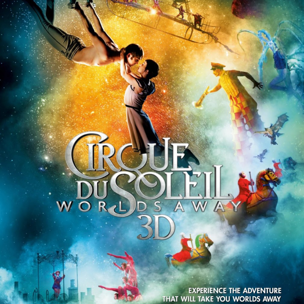 Cirque Du Soleil Worlds Away 3D for iPad Wallpaper iPad Retina 1024x1024