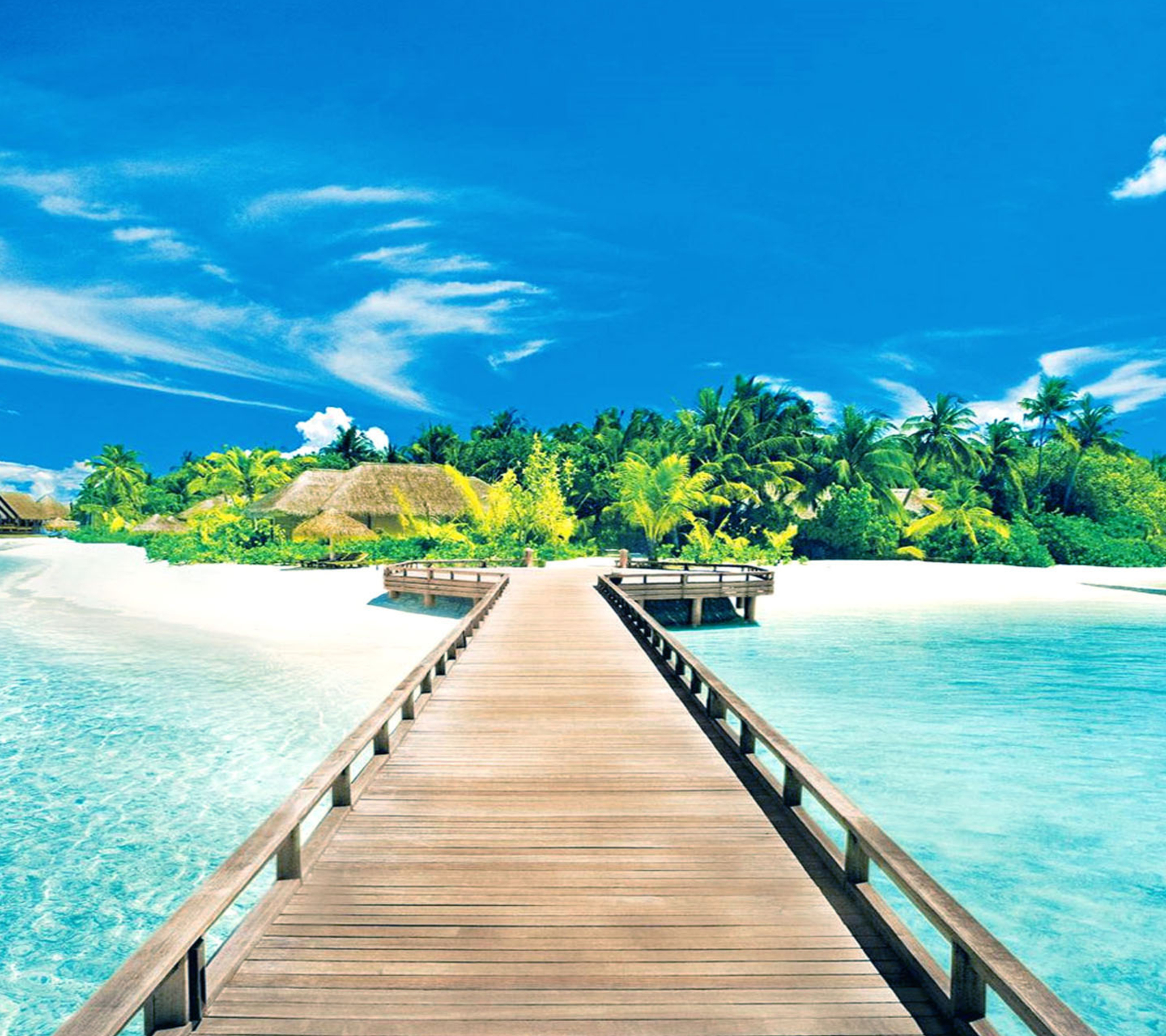 Island Beach Wallpaper: Beautiful Island Pictures For Wallpaper