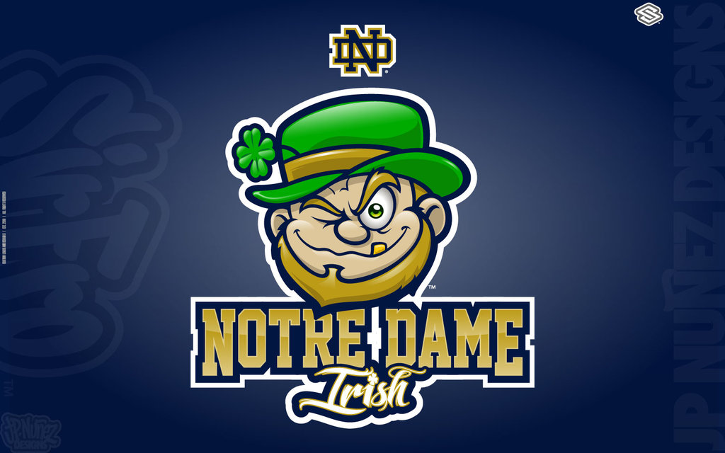 Notre Dame Irish by jpnunezdesigns 1024x640
