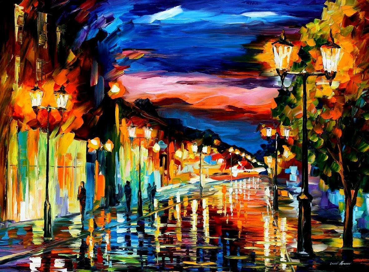 Leonid Afremov Wallpapers 1182x872