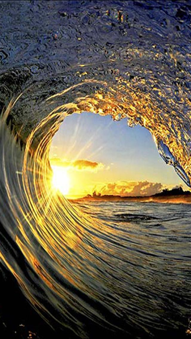 Wave Tunnel HD IPhone Wallpapers 5s4s3G 640x1136