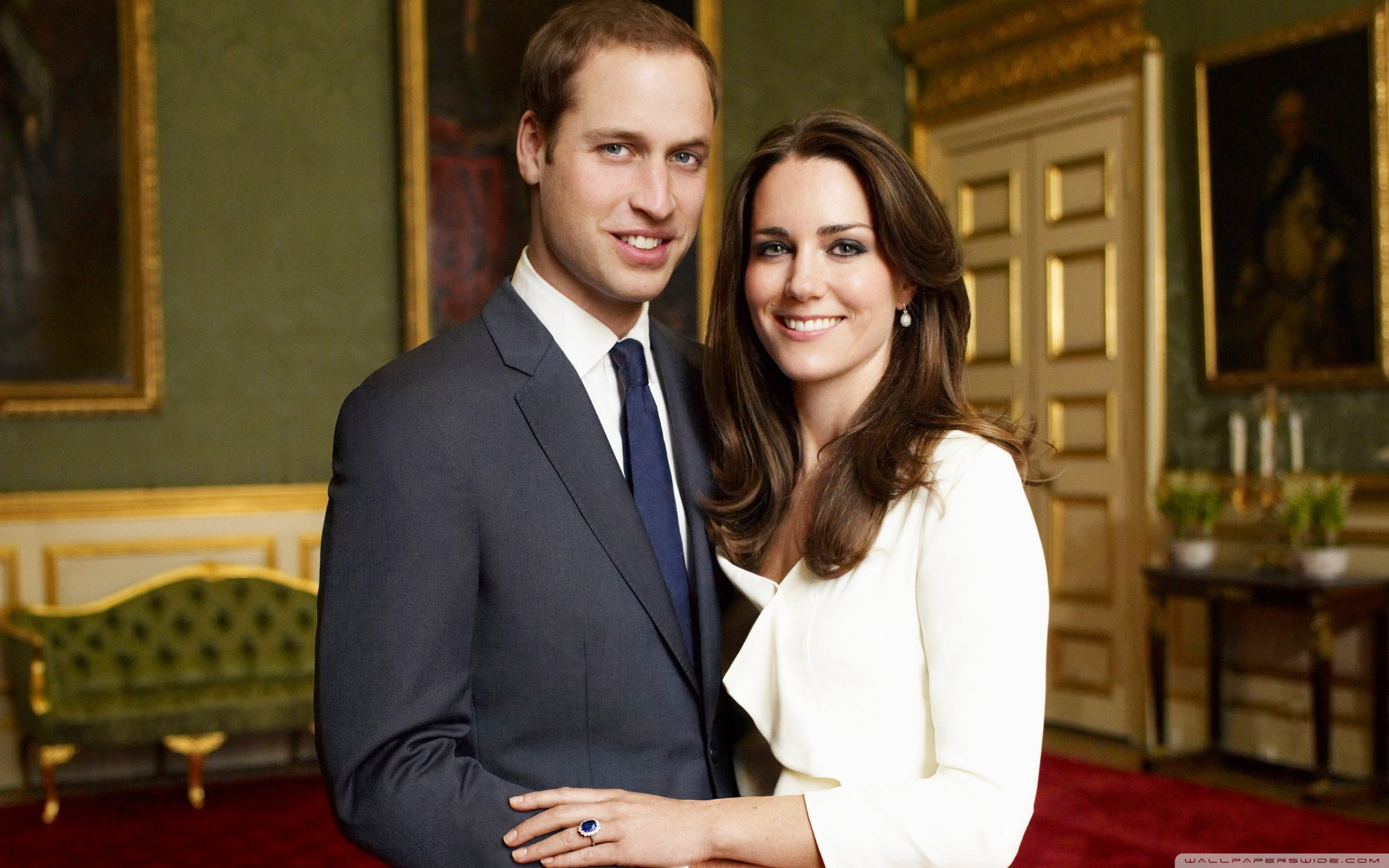 Prince William And Kate Middleton 4K HD Desktop Wallpaper for 2560x1600