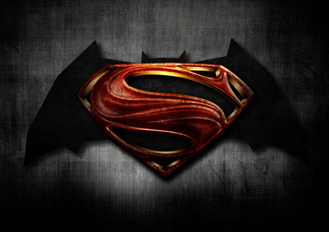 Batman and Superman Movie Logo by AndrewMJBaker 1063x751