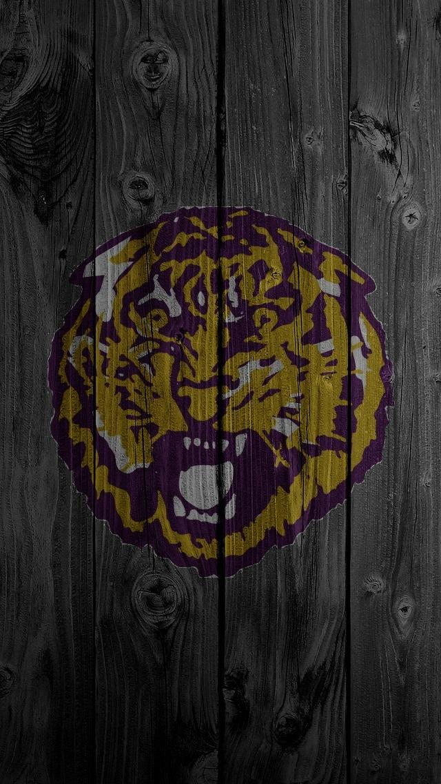 LSU Tiger Purple iPhone 5 Wallpaper 640x1136 640x1136