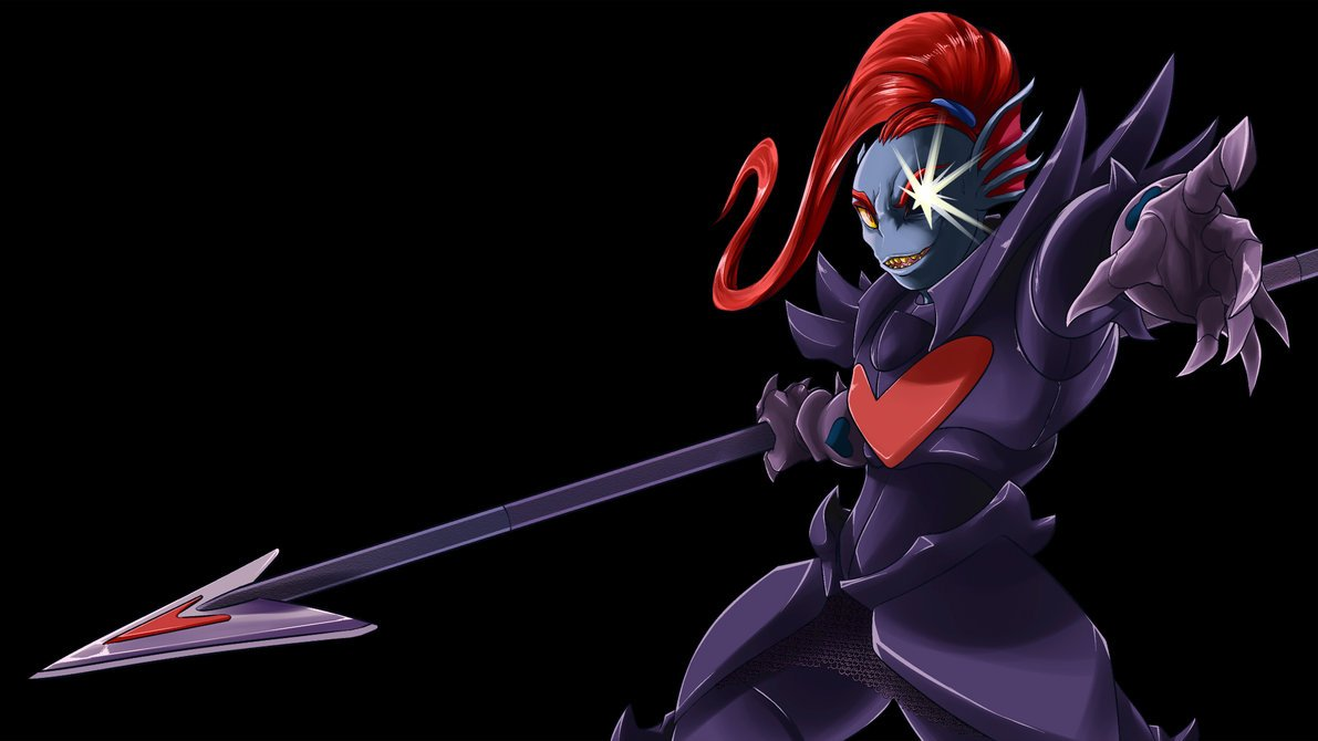 Undyne the Undying by Gannadene 1191x670