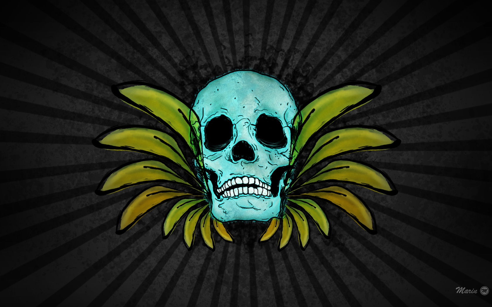 wallpaper skull by marindesign customization wallpaper other 2010 2015 1680x1050