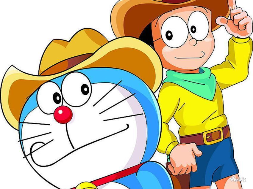 Doraemon And Nobita Wallpaper 850x637