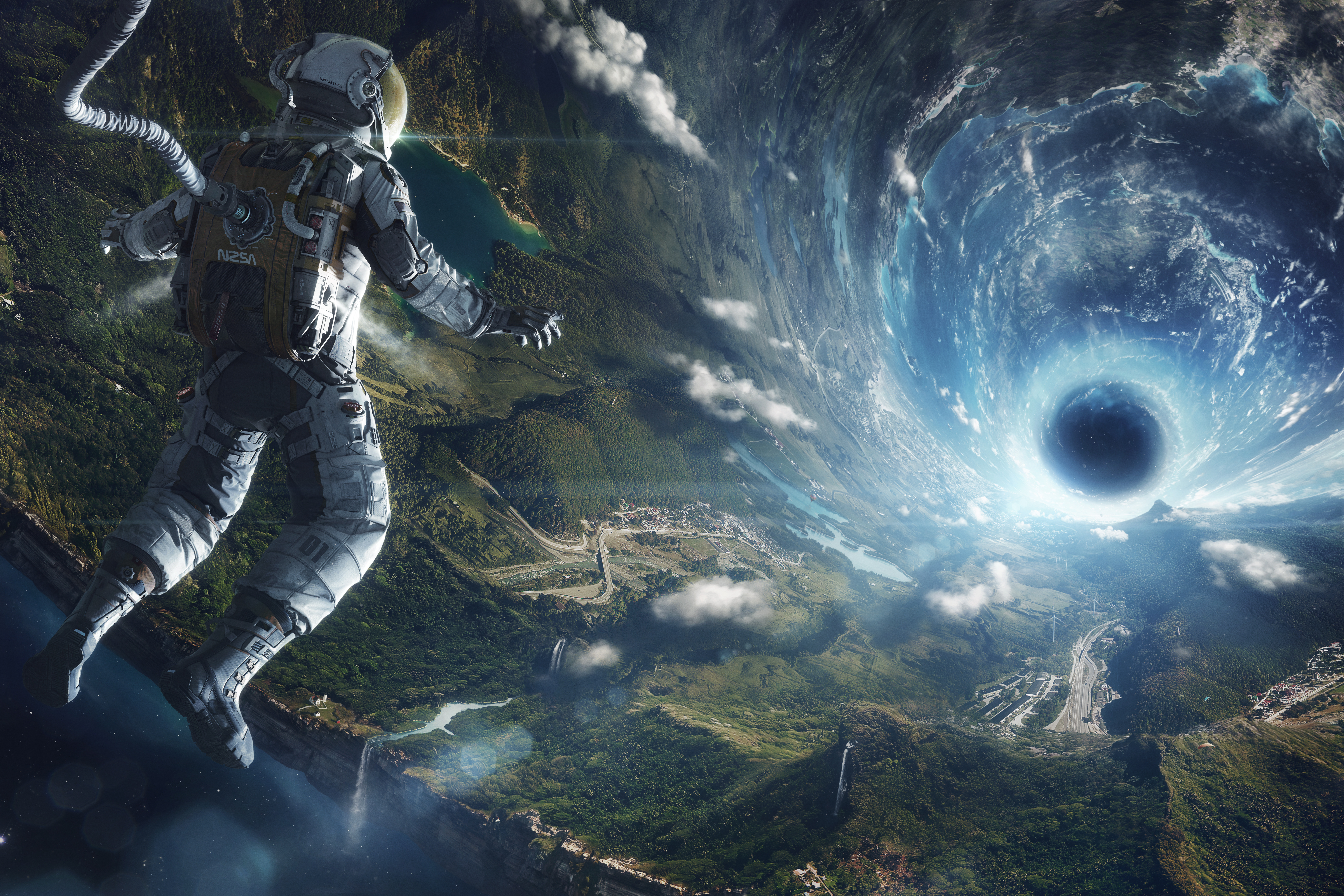 407 Astronaut HD Wallpapers Background Images 3200x1800