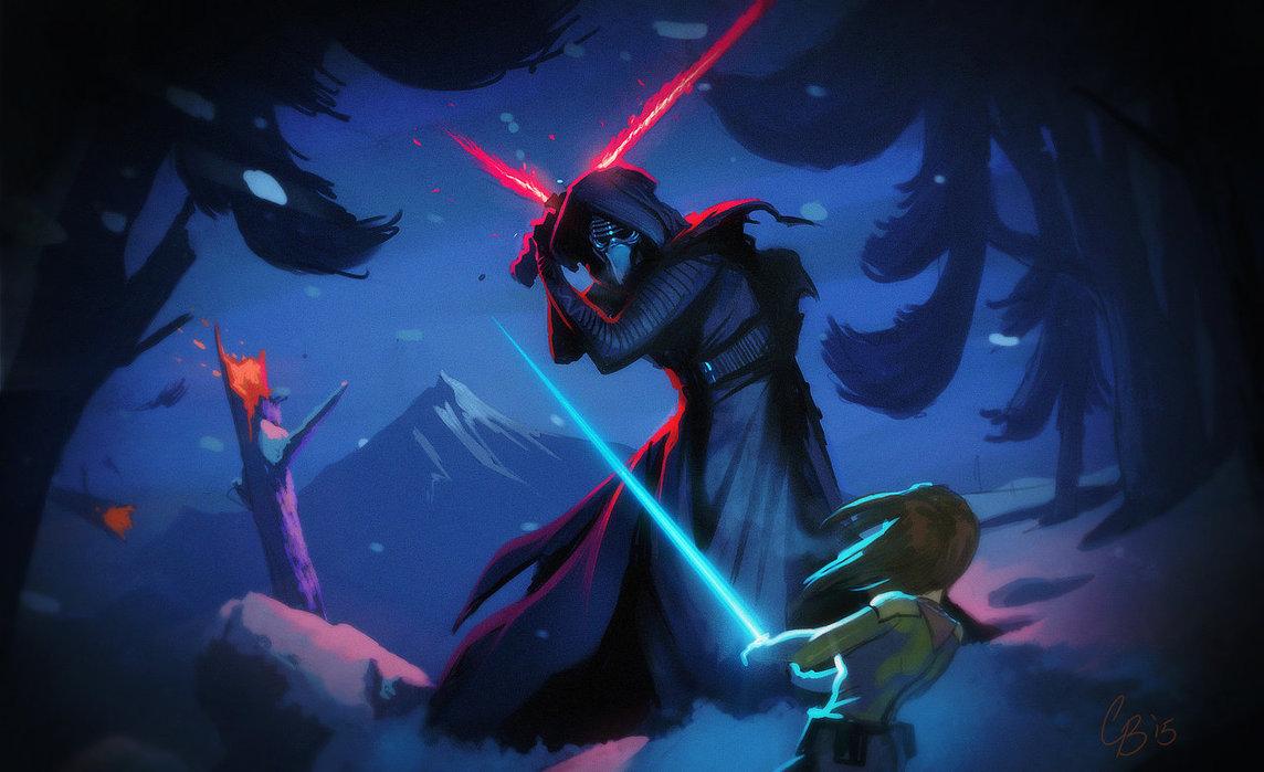 Star Wars The Force Awakens by VagabondArts 1144x699