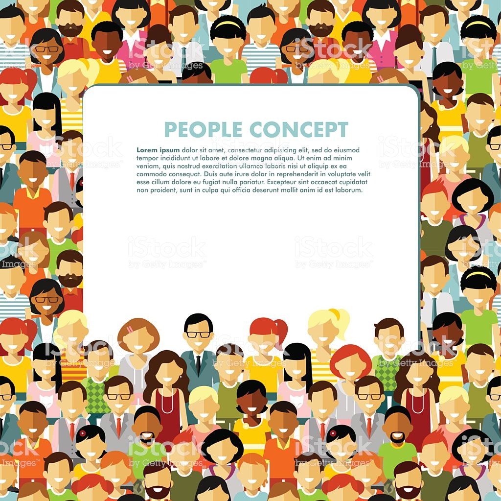 Modern Multicultural Society Concept With Seamless People 1024x1023