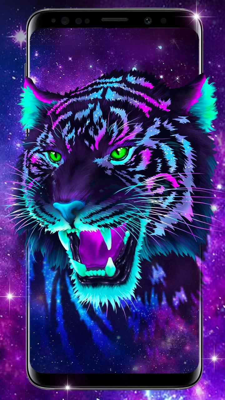 Galaxy Tiger Live Wallpapers for Android   APK Download 720x1280