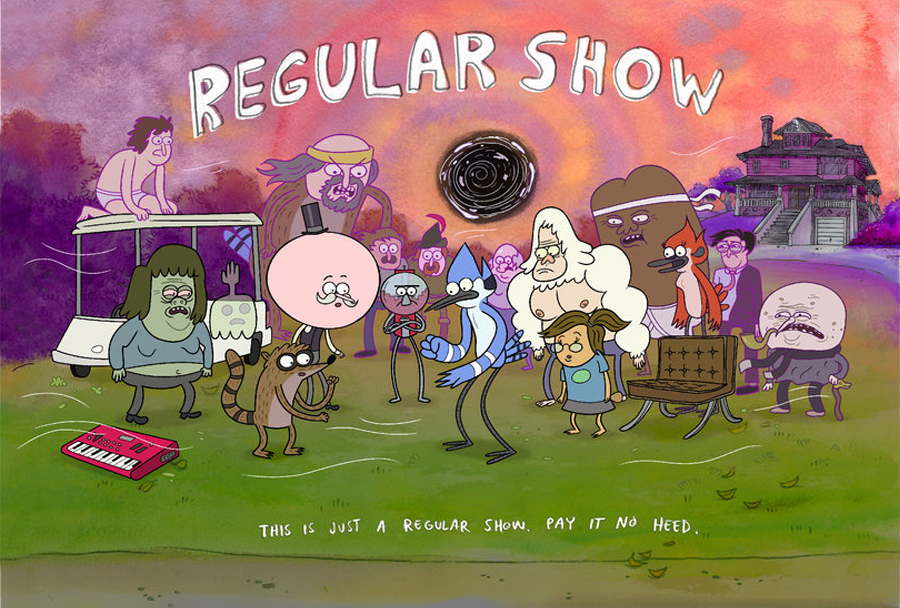 Free Download Regular Show Wallpaper Hd Regular Show