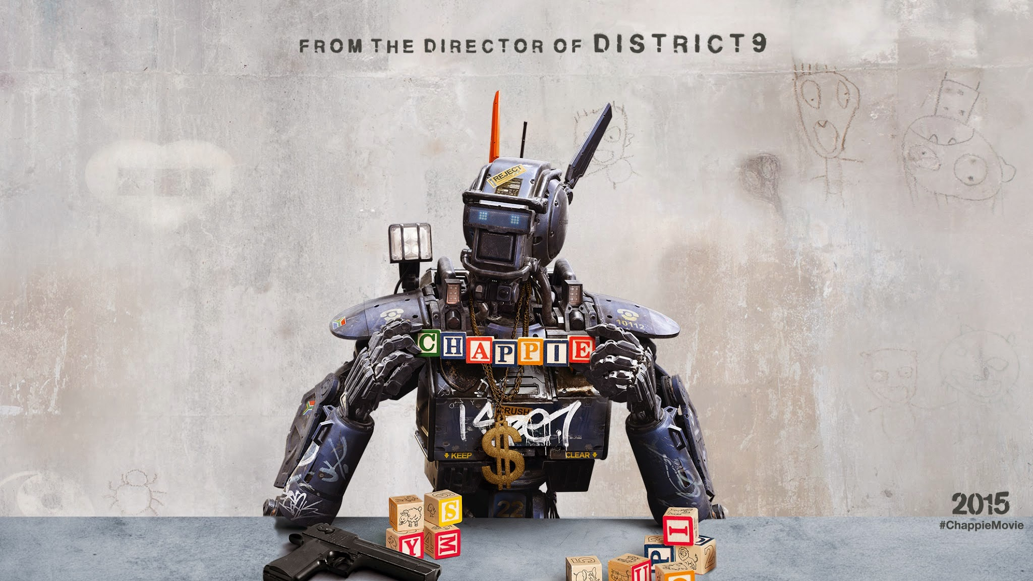 Chappie Wallpapers Download T715T95   4USkY 2048x1152
