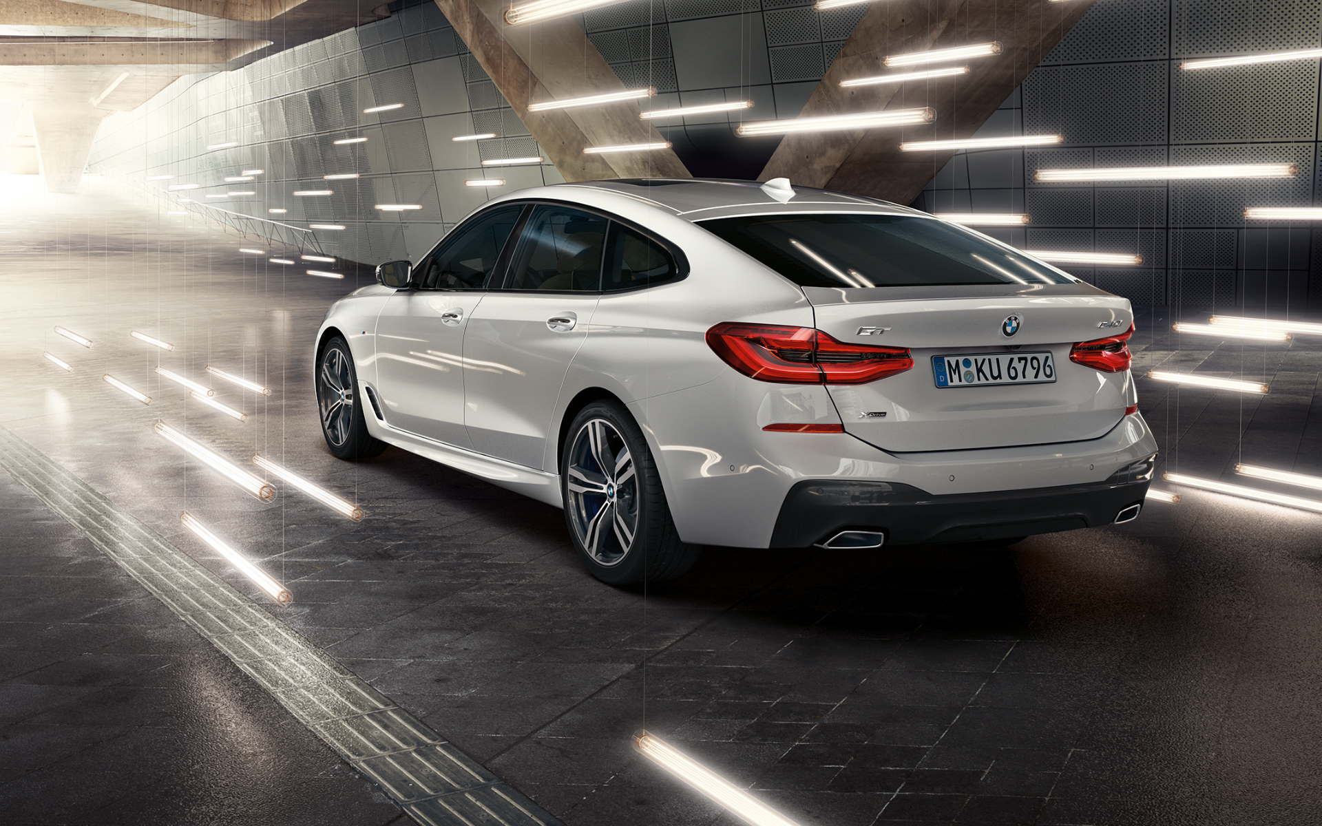 Download wallpapers of the BMW 6 Series Gran Turismo 1920x1200