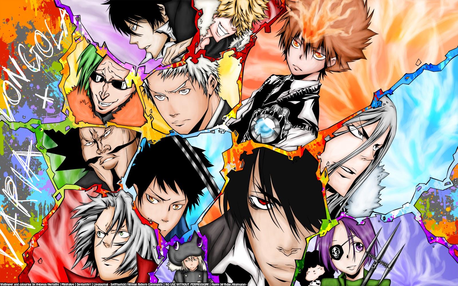 Katekyo Hitman Reborn Character Anime HD Wallpaper Desktop PC 1600x1000