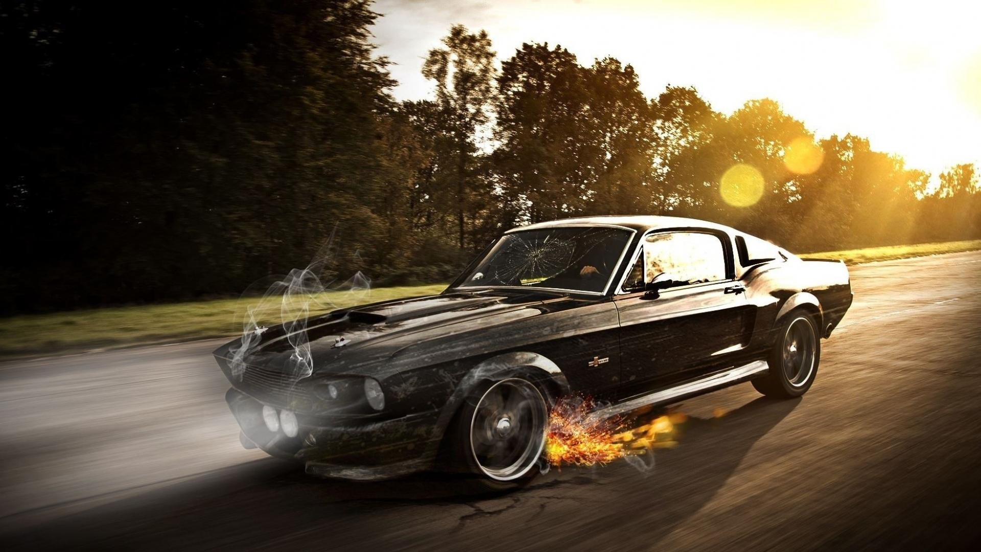 Cars ford mustang muscle car wallpaper 59043 1920x1080