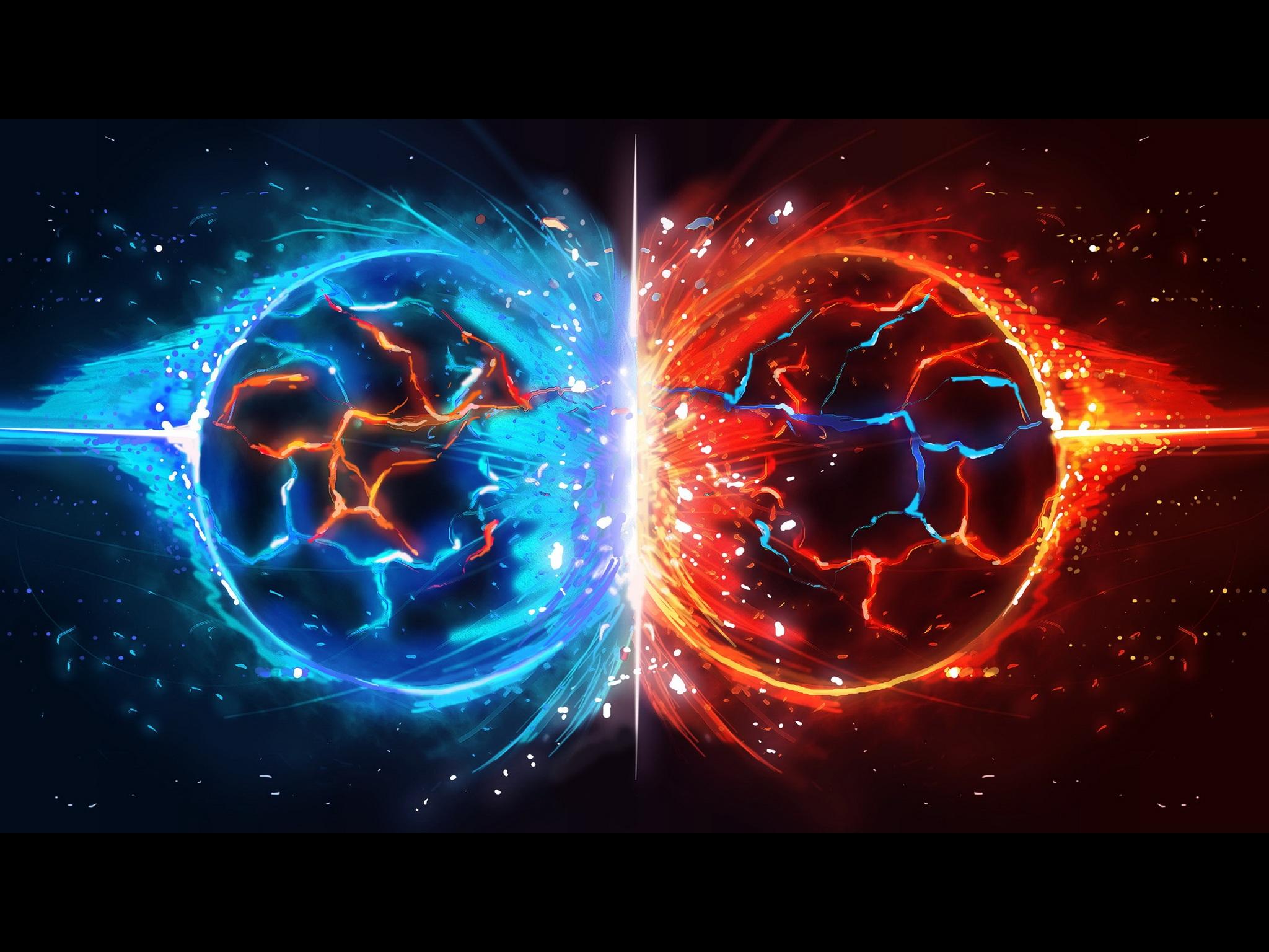Download Clash of Elements Wallpaper 2048x1536 Wallpoper 229388 2048x1536