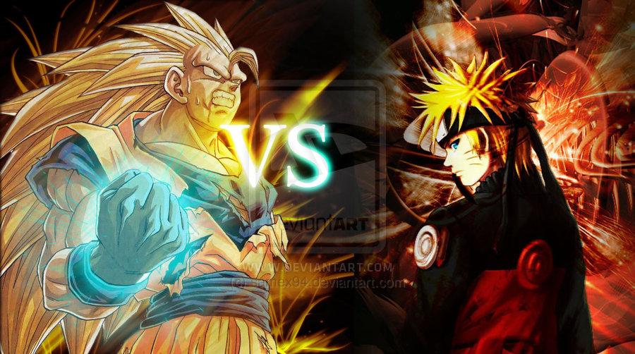 Goku Vs Naruto Best Developer Wallpaper Coloring Online 900x502