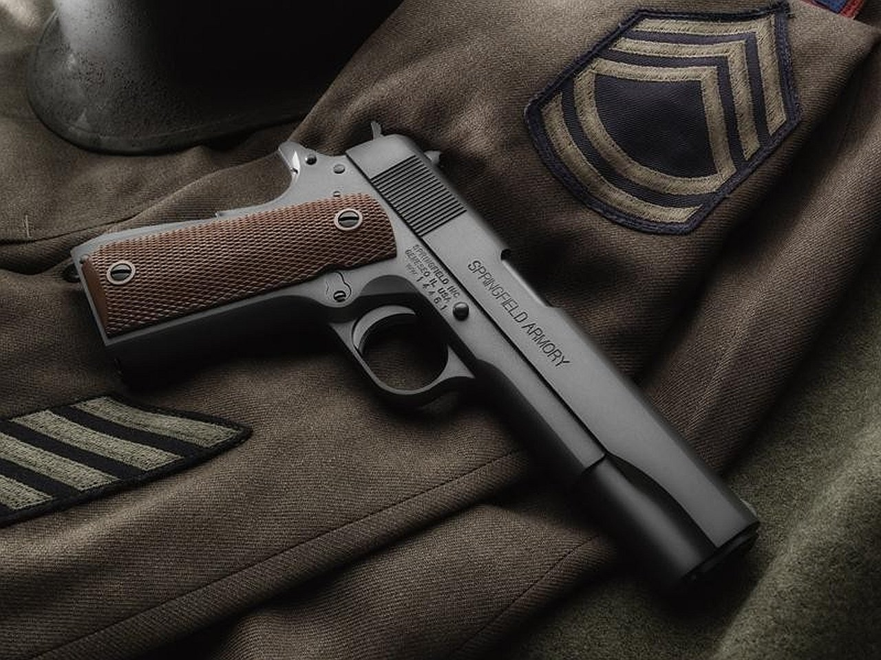 Weapons   Springfield Armory 1911 Pistol Wallpaper 1280x960