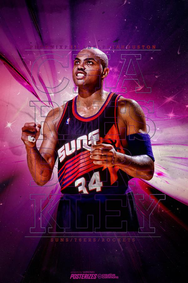 Posterizes on Twitter Charles Barkley Suns Wallpaper Download 600x900