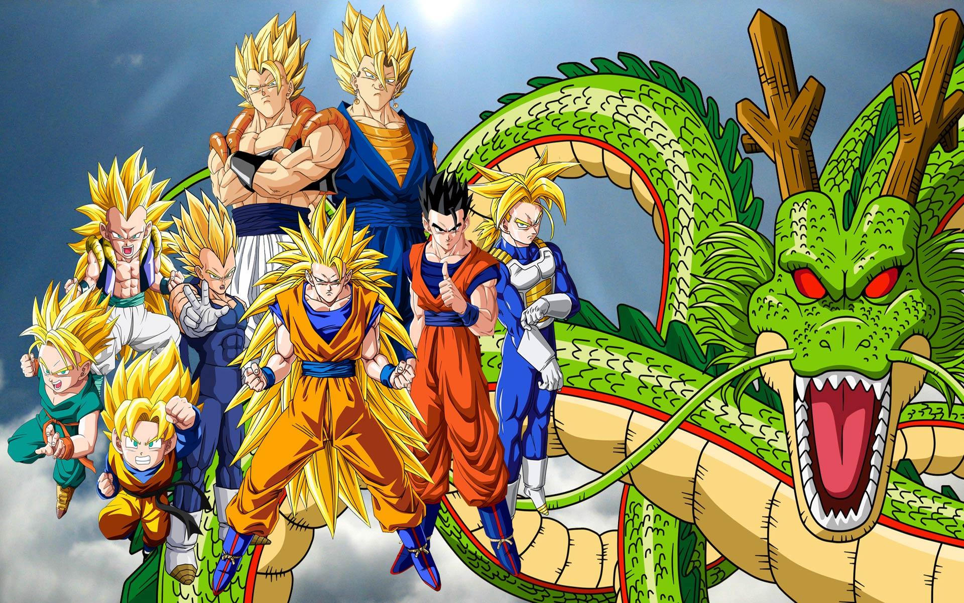 Nice Anime Desktop Backgrounds Dragon Ball Z HD High 1920x1200