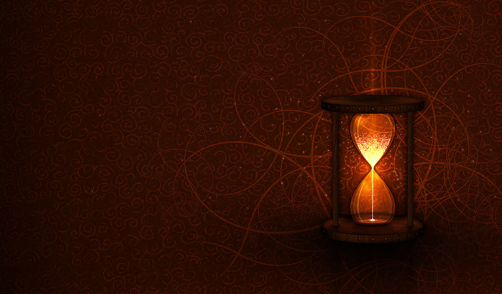 Hourglass Time Wallpaper 1024x600 Hourglass Time 1024x600
