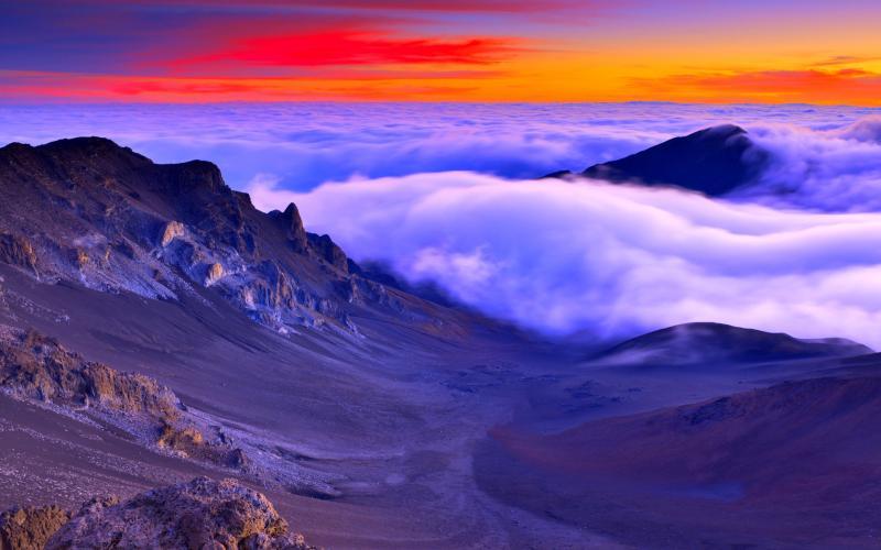 Sunset Hawaii 800x500