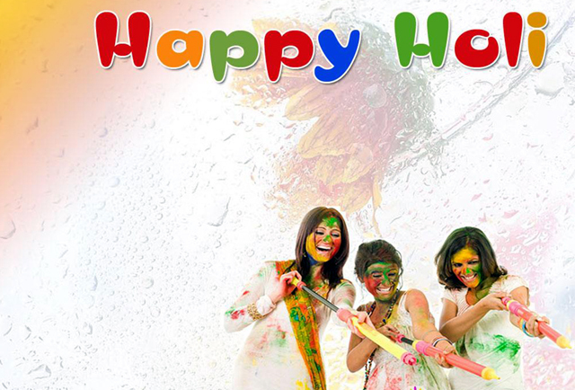 Happy Holi Festival Wallpapers holi on Rediff Pages 640x434