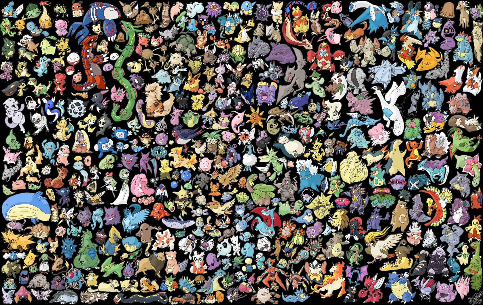 Pokemon Computer Wallpapers Desktop Backgrounds 1677x1057 ID 1677x1057