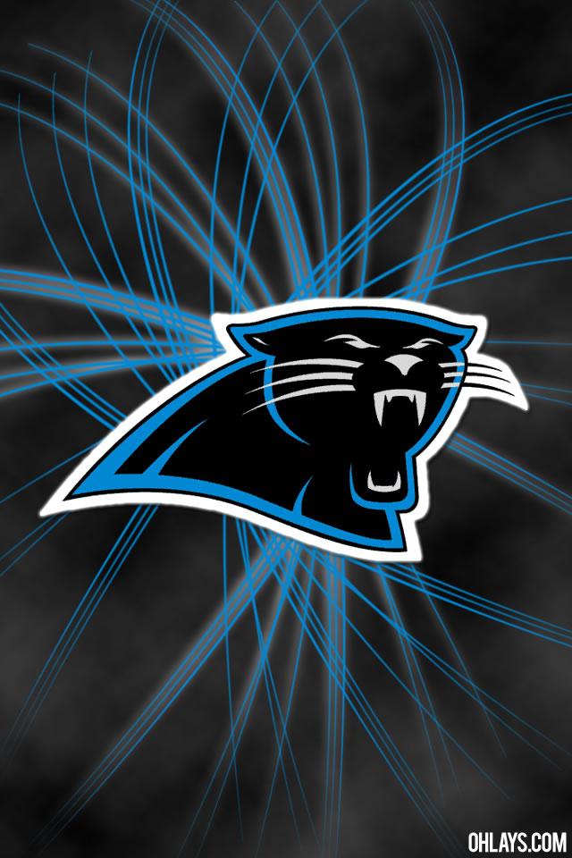 Carolina Panthers iPhone Wallpaper 508 ohLays 640x960