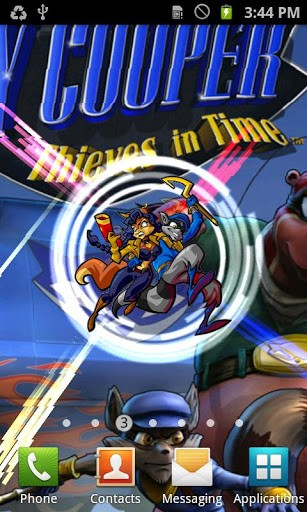 View bigger   Sly Cooper Live Wallpaper for Android screenshot 307x512