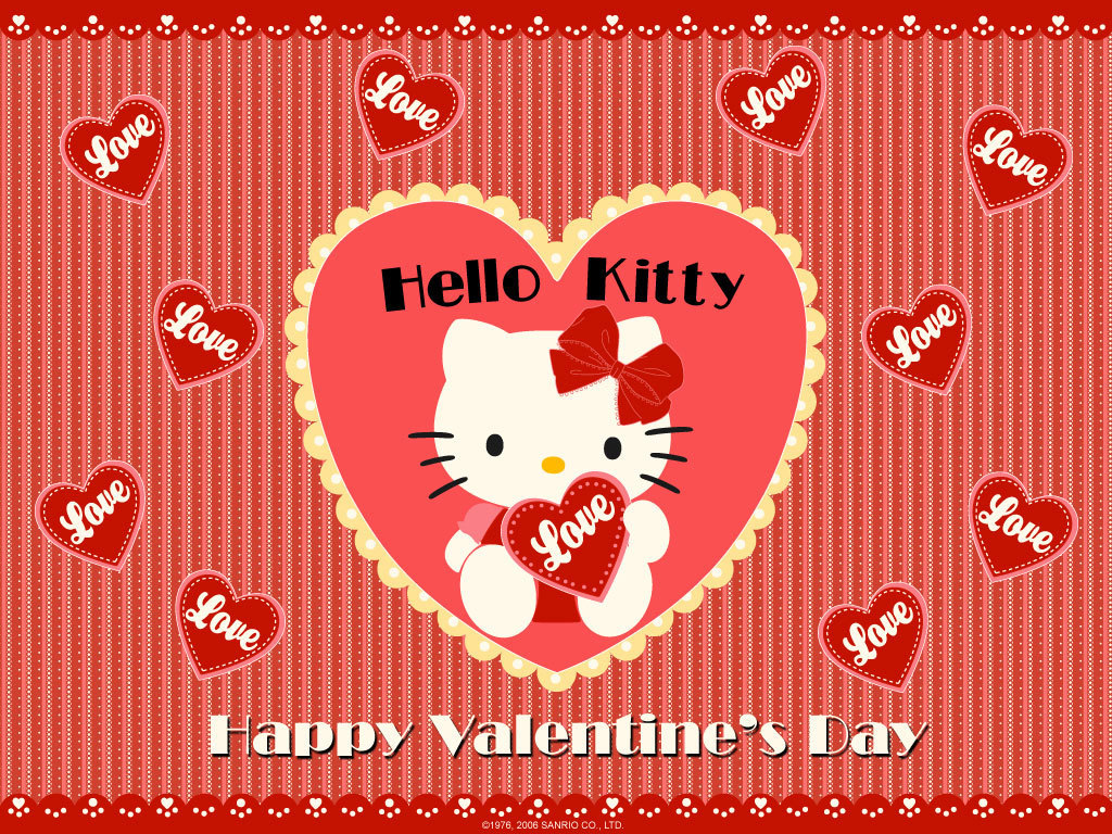 Hello Kitty Wallpaper hello kitty 8256553 1024 768jpg 1024x768
