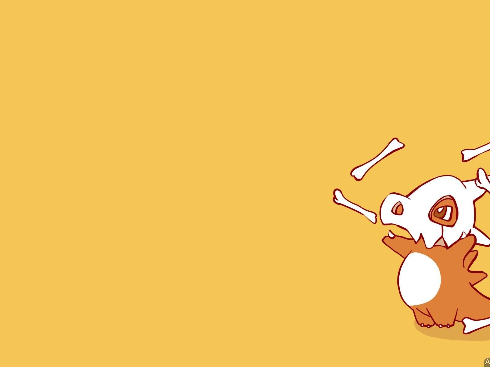 Pokemon video games cubone wallpaper 48280 1600x1200