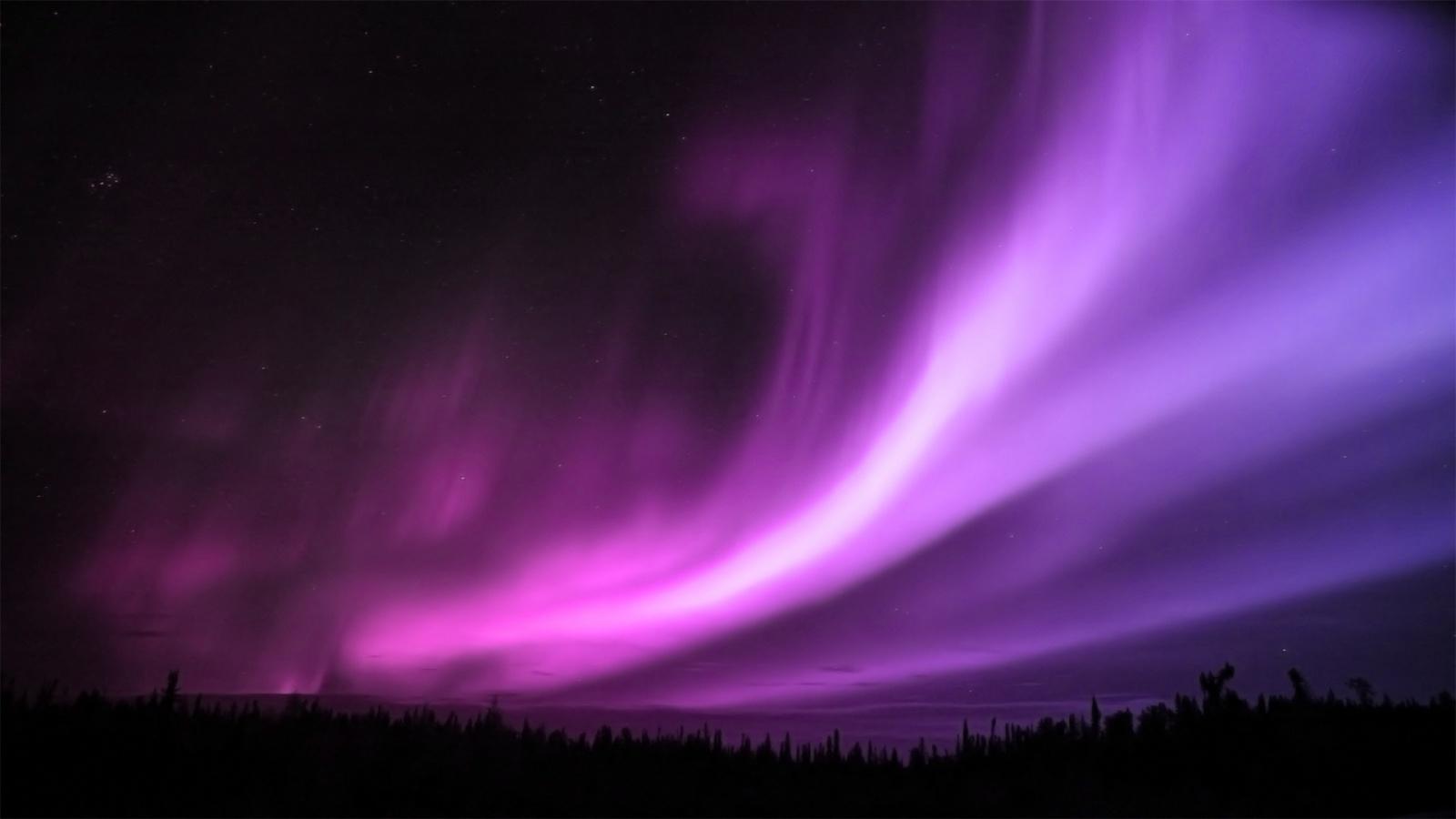 Purple Aurora Borealis Wallpapers HD Wallpapers 1600x900