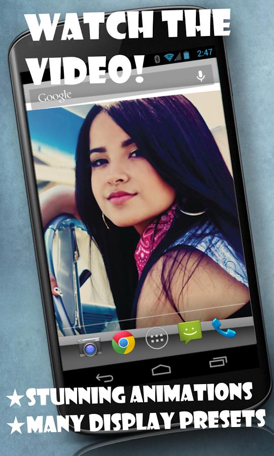 Becky G live wallpaper   screenshot 540x900