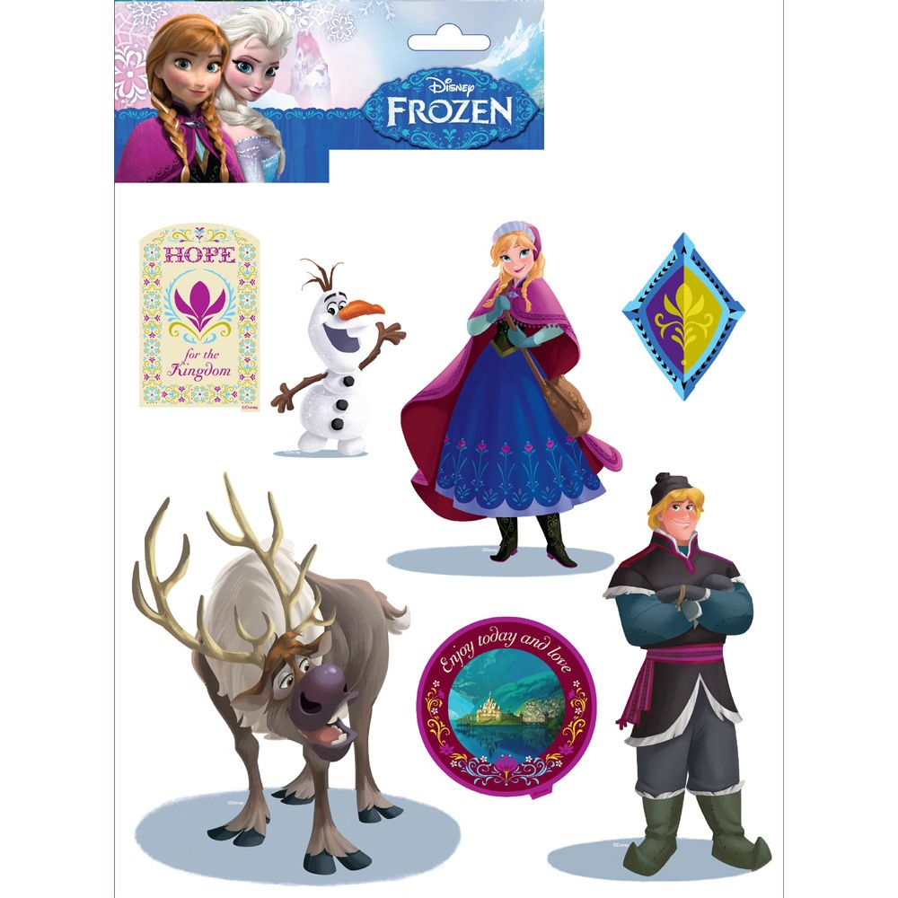 DISNEY FROZEN WALLPAPER BORDERS AND WALL STICKERS WALL DECOR 1000x1000