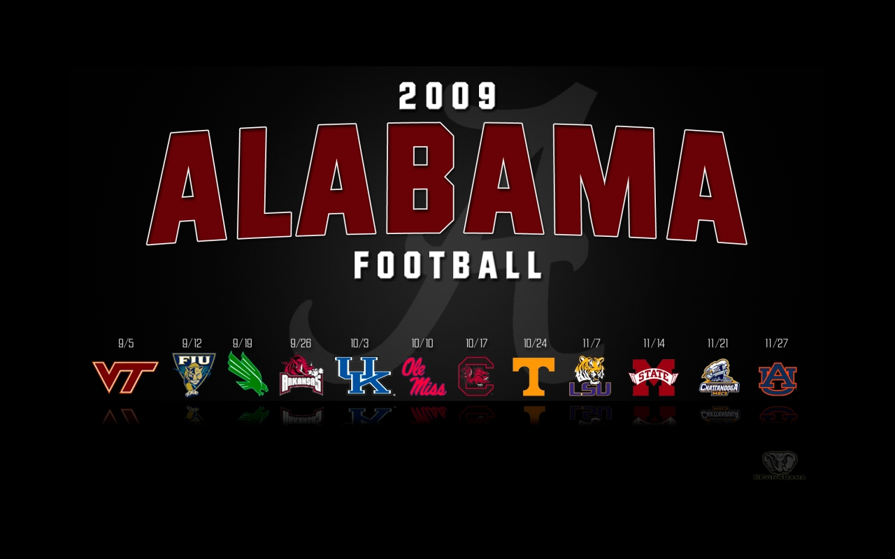 Alabama Football 2015 Schedule Wallpapers 1280x800