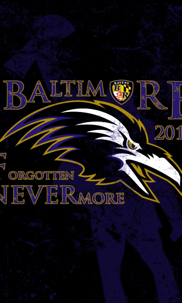 Baltimore Ravens Game of Thrones Style Wallpaper for HTC Windows Phone 768x1280