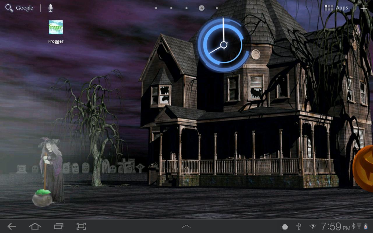 Halloween Live Wallpaper HD   screenshot 1280x800